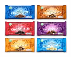 Tesco Chocolate range - watch out for the e-design work which has just been completed