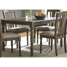 Candlewood Weathered Grey Dinette Table | Overstock.com Shopping - The Best Deals on Dining Tables