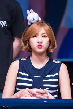 Apink Hayoung at Gangnam Fansign Even