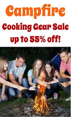 Campfire Cooking Gear Sale: up to 55% off!!