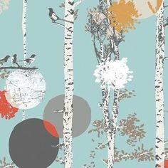 Stamped Grove Daylight Art Gallery Fabrics
