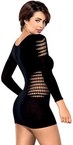 Obsessive Vestido D606 Preto http://www.yousexy.pt/lingerie-feminina/vestidos/vestido-d606-preto/