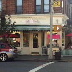 Little Cupcake Bakery in Bay Ridge, Brooklyn. It was good and so pretty.