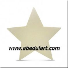Silueta de madera - Estrella Mini
