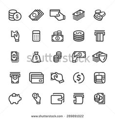 Find Money Icon Set stock images in HD and millions of other royalty-free stock photos, illustrations and vectors in the Shutterstock collection. Web Design, Icon Design, Logo Design, Flat Design, Money Icon, Icons Web, Doodle Icon, Doodle Art, Banks Icon