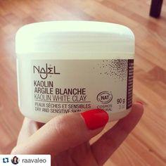 Un conseil à suivre ! #Repost @raavaleo with @repostapp  Ce matin c'était masque à l'argile blanche  de chez #Najel une marque bio. J'adore la façon dont ce masque rend ma peau lisse et douce !  Prenez soin de votre peau c'est important.  #Najel #Masque #ArgileBlanche #Bio