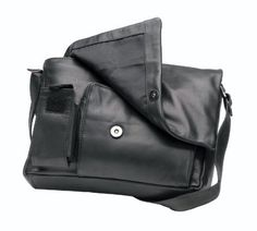 Bacci Cell Phone Flap Over Purse - Black Bacci. $80.00