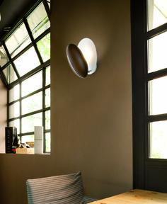 Peanut design by Oriano Favaretto | Wall lamp in ash wood | #light4 #design #lamp
