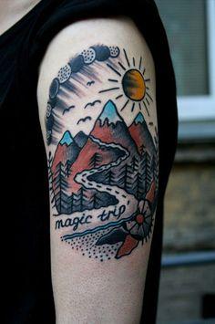 68-travel-tattoos-pintrest-magic-trip-psycadelic