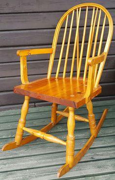 FINN – Orginal Budal gyngestol Trondheim, Rocking Chair, Chairs, Furniture, Home Decor, Chair Swing, Decoration Home, Room Decor, Rocking Chairs
