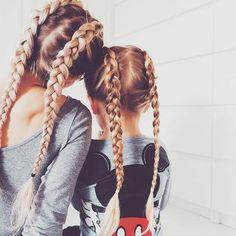 Braid child - 70 ideas - Tiktok Hair Make-Up Cool Braid Hairstyles, Little Girl Hairstyles, Summer Hairstyles, Braids For Kids, Girls Braids, Plaits, Dream Hair, Braid Styles, Hair Color