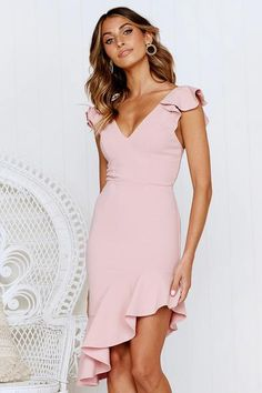 Ladies fashion boutique offering a unique collection of affordable fashion pieces. Cheap Prom Dresses, Casual Dresses, Short Sleeve Dresses, Pink Dresses, Elegant Dresses, Pink Cocktail Dress, Classy Dress, Formal Gowns, Ruffle Dress