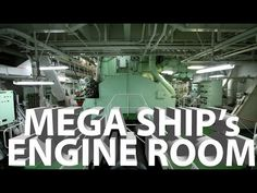 Maersk EEE class engine room overview - YouTube