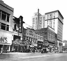 The Civic Theatre was designed by John Eberson and built by Marcus Loew in 1929.