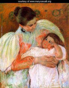 Nurse And Child - Mary Cassatt - www.marycassatt.org