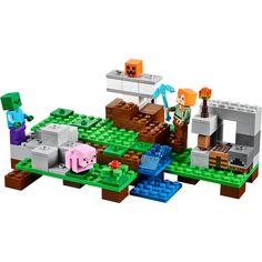 Køb 21123, Jerngolem online. Du kan også få andre Byggeklodser og modelbyggeri produkter fra LEGO Minecraft hos Lekmer.dk.