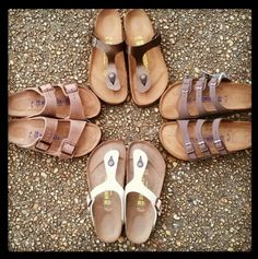 New Birkenstock sandals at Downtown and Barnes Crossing Mall
