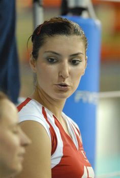 Neslihan Demir Darnel, turkish volleyball player