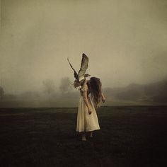 to lift her up  http://www.flickr.com/photos/brookeshaden/