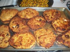 Savory boneless pork chops 5 thin, boneless pork chops 1 large egg 1 teaspoon Dijon mustard 1/2 teaspoon dried oregano 1/4 teaspoon cayenne peppersalt and ground pepper 1 cup italian bread crumbs 2 tablespoons grated parmesan cheese 2 tablespoons shredded mozzarella cheese Peanut oil, for frying