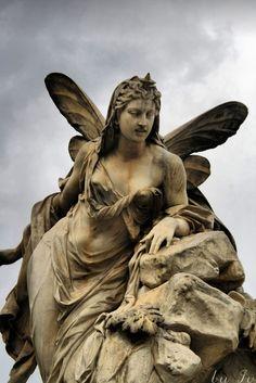 A Fairy monument in Austria. #fantasy #fairytale