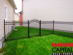 Pros of iron fences? - Strength. Iron fencing is much stronger than other common fencing materials such as wood or vinyl. - Durable. Iron fences will last much long than other fences. - Easy to Maintain. For the most part, these fences are easy to maintain especially if they are painted. Paint will keep the tiny pits that may form in the metal from collecting substances that may cause them to corrode.  [Pictured: One of our recent works in the west end of #Ottawa.]