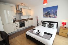 Milton Keynes is one of the important business hubs in the UK and as a result there is a high demand for business travel accommodation. Serviced apartments offer just the extra making them a more homely choice with significant cost savings.