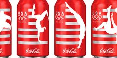 Coca-Cola packaging for The Olympic Games - The Dieline