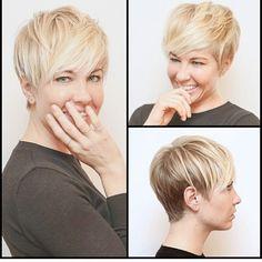 Estilos de pelo corto rubio platino hermosos que te hacen brillar!