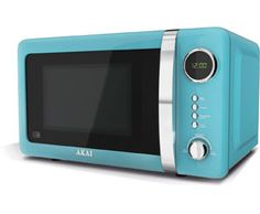 Properly considering this turquoise microwave!! Akai A24005B Microwave Freestanding Blue £73