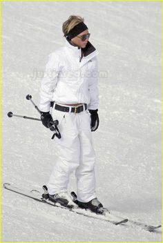 Great skiing outfit