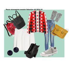 """""""outfit per tutti giorni#2"""" by una-pulkstene on Polyvore"""