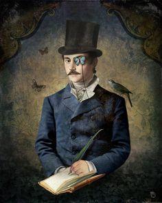 Christian Schloe - Pintor e Ilustrador Austríaco.