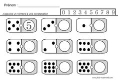 Site maternelle : jeu des dominos en gs