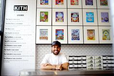 A Childhood Obsession Leads to a Cereal Bar at Kith - NYTimes.com