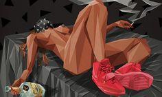 Kanye West Lyrics Illustrated in Limited Edition Prints • Highsnobiety