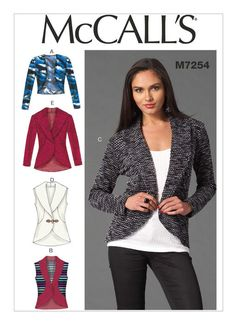 M7254 | McCall's Patterns                                                                                                                                                                                 More