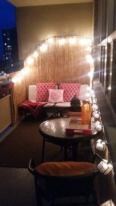 20 Small Balcony Lighting Ideas | Balconies, Interiors and Apartments