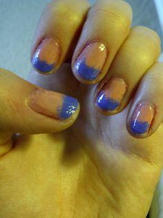Dip dye nails fail ;D