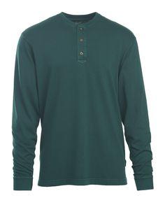 Men's First Fork Sueded Jersey Henley Shirt