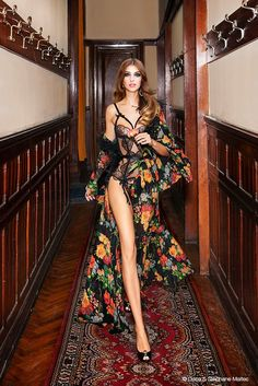 Agent Provocateur - this is what I will wear to do the housework when I have a house. That, along with marabou slippers..