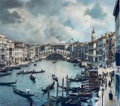 Burton Holmes, Venice