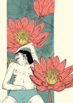 © Sabrina Gevaerd   Suave Resistencia   ilustración   Cóctel Demente