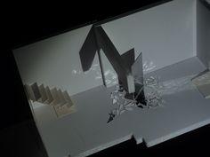 Se plantea una intervención en el interior de una galería de Madrid para que el espacio quede atractivo entre exposición y exposición