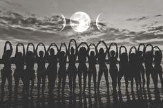 Dreamseed Online New Moon Temple — Goddess Rising Mystery School Sacred Feminine, Divine Feminine, Full Moon Ritual, Virgo Moon, Greatest Mysteries, Moon Rise, Moon Goddess, New Moon, Archetypes
