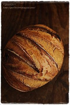 Soy Flour, Brown Sugar and Sweet Bean Pain de Campagne