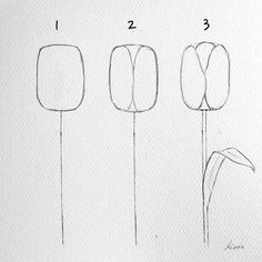 Artist Reveals the Simple Steps to Drawing Perfect Flowers how to draw - Drawing Tips Rose Drawing Simple, Simple Flower Drawing, Flower Drawing Tutorials, Art Tutorials, Flower Drawings, Drawing Skills, Drawing Tips, Drawing Drawing, Watercolor Flowers Tutorial