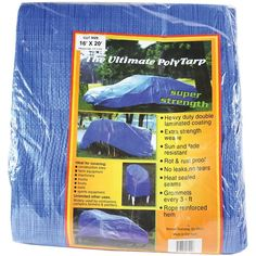 World & Main Reinforced Plastic Ultimate Poly Tarp x Super Strength Moving Supplies, Tent Accessories, Sports Equipment, Maine, Strength, Plastic, Catalog, Wholesale Products
