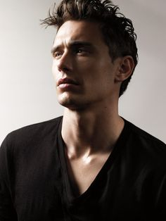 James Franco.  There's something about a nice thin tight black t-shirt on a man....just something really nice about it. mmmm...