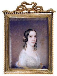Caroline Marsh Thurston, Richard Morrell Staigg, 1841; GMA 1935.002.0002